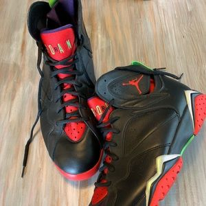 Marvin the Martian Jordan Retro 7's